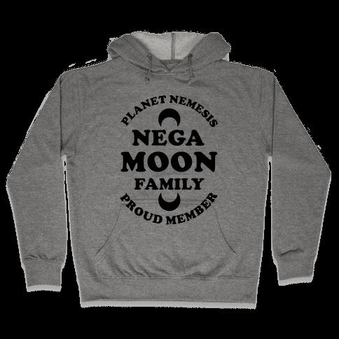 Negamoon Family Proud Member Hooded Sweatshirt