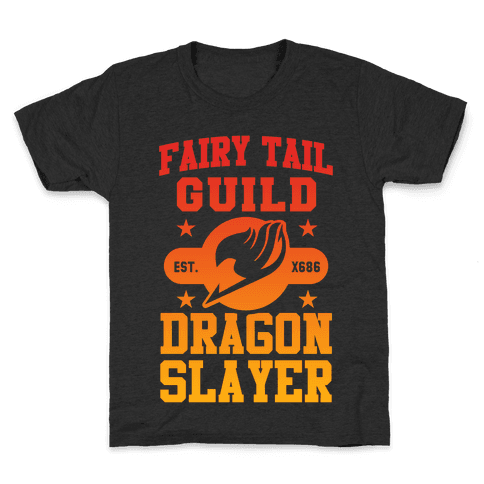 Fairy Tail Guild Dragon Slayer Kids T-Shirt