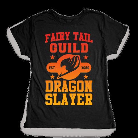 Fairy Tail Guild Dragon Slayer Womens T-Shirt