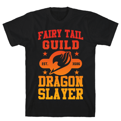 Fairy Tail Guild Dragon Slayer Mens T-Shirt