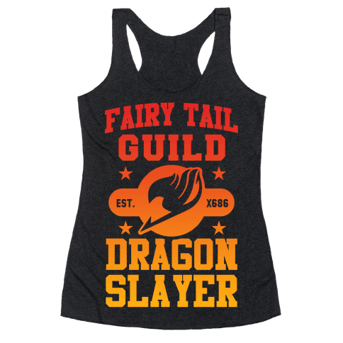 Fairy Tail Guild Dragon Slayer Racerback Tank Top
