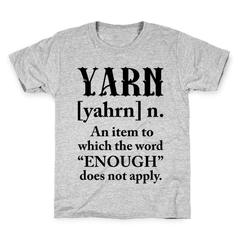 Yarn Definition Kids T-Shirt