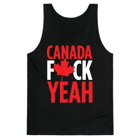 Canada F*ck Yeah! Tank Top