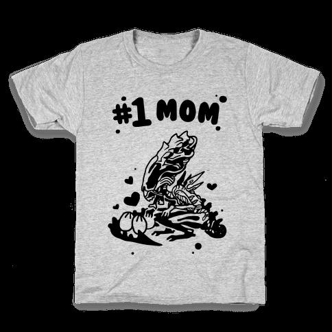 Alien Queen #1 Mom Kids T-Shirt