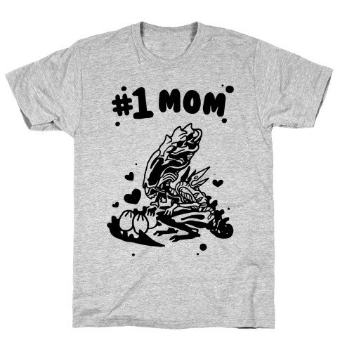 Alien Queen #1 Mom Mens T-Shirt