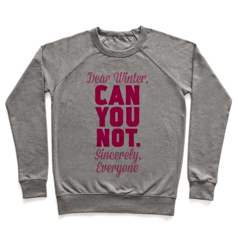 Dear Winter Pullover