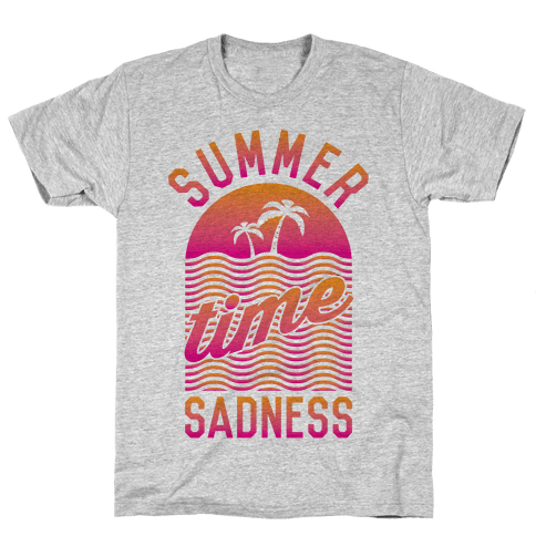 Summertime Sadness Mens T-Shirt