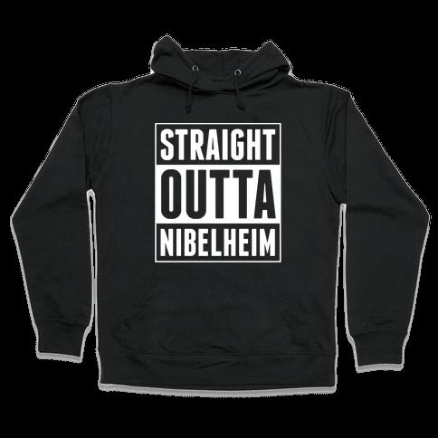 Straight Outta Nibelheim Hooded Sweatshirt