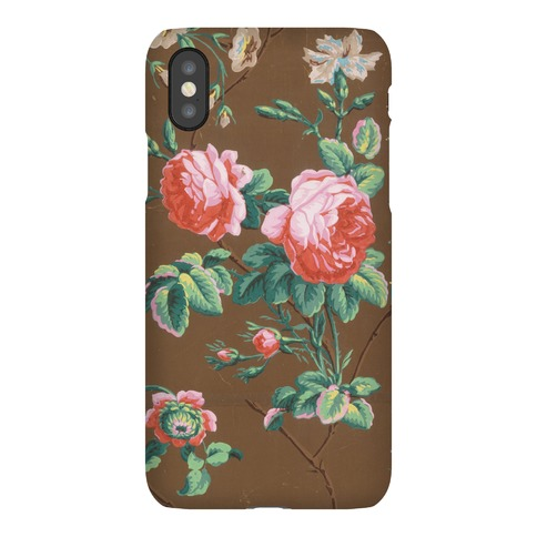 Vintage Floral Wallpaper Case Phone Case