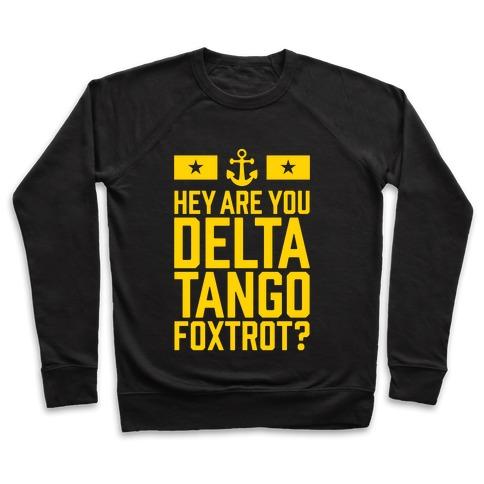 Delta Tango Foxtrot (Navy) Pullover