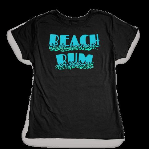 Beach Bum Womens T-Shirt