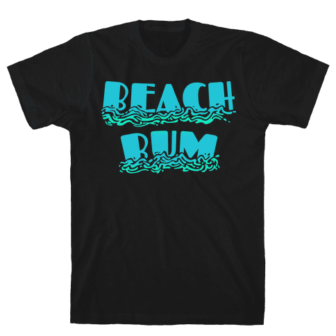 Beach Bum Mens T-Shirt