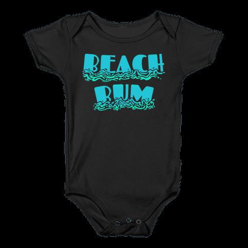 Beach Bum Baby Onesy