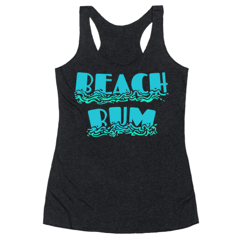 Beach Bum Racerback Tank Top