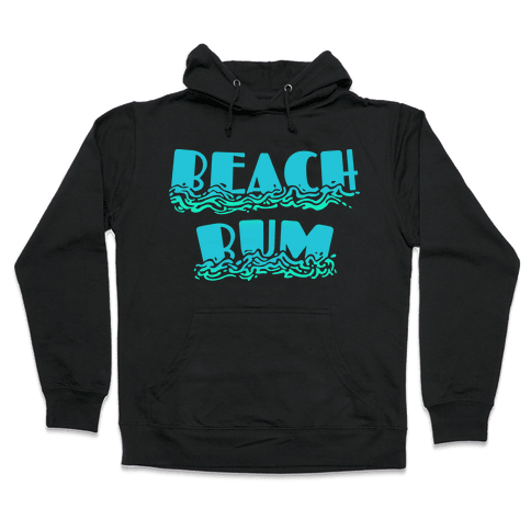 Beach Bum Hooded Sweatshirt