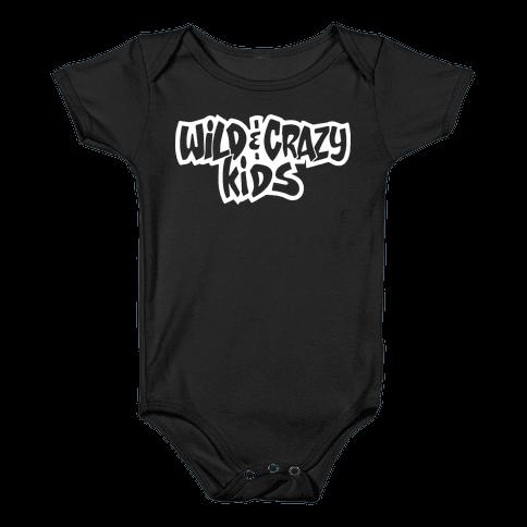 Wild & Crazy Kids Baby Onesy
