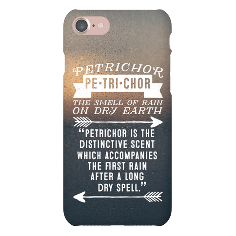Petrichor Definition Phone Case