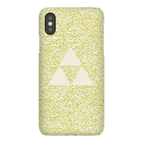 Subtle Triforce Pattern Phone Case