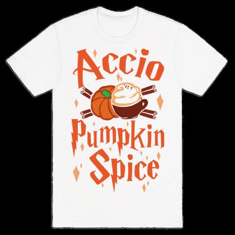 Accio Pumpkin Spice Mens T-Shirt