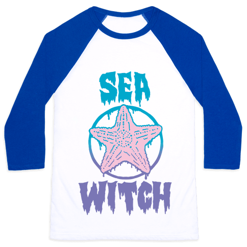 Sea Witch Baseball Tee