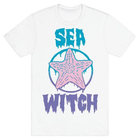 Sea Witch Mens T-Shirt