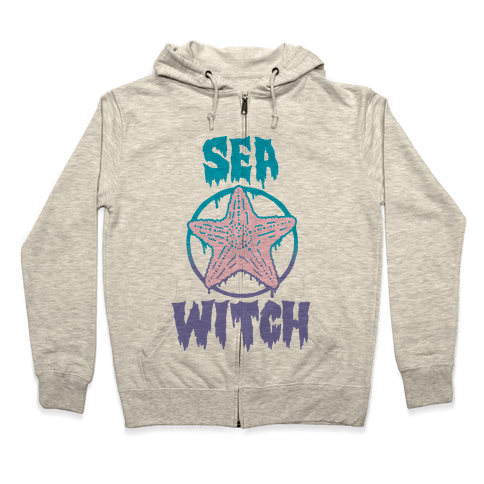 Sea Witch Zip Hoodie