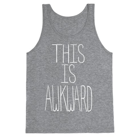 This is Awkward (juniors) Tank Top