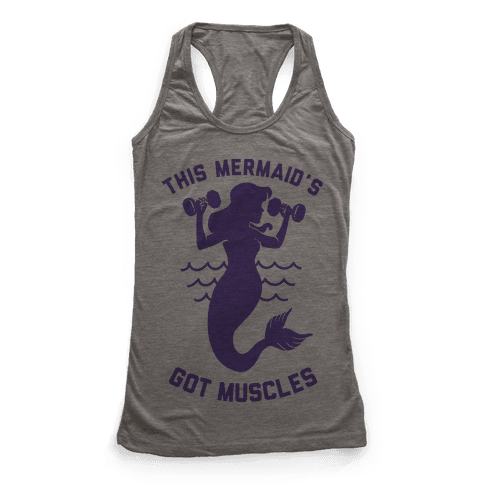 This Mermaid's Got Muscles