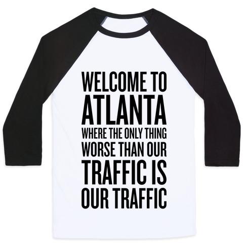 Atlanta Traffic Baseball Tee