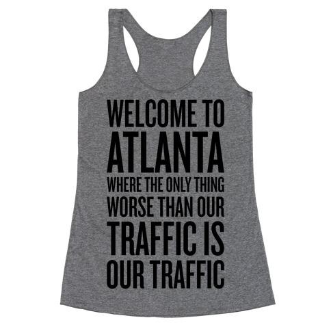 Atlanta Traffic Racerback Tank Top