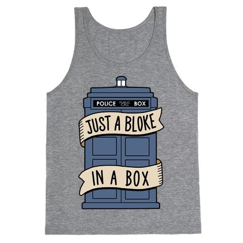 Just a Bloke In a Box Tank Top