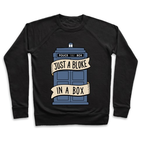 Just a Bloke In a Box Pullover