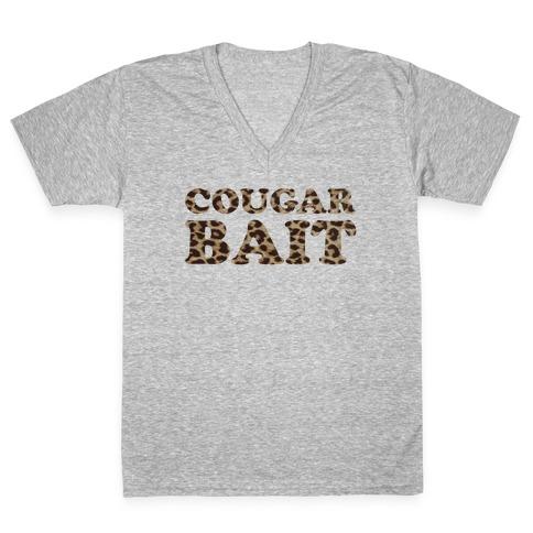 Cougar Bait V-Neck Tee Shirt