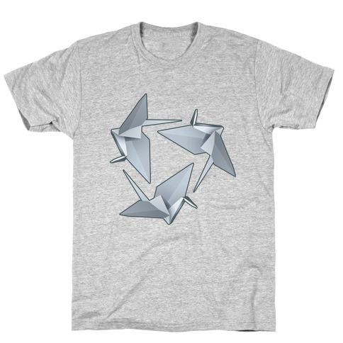 Origami Paper Crane T-Shirt