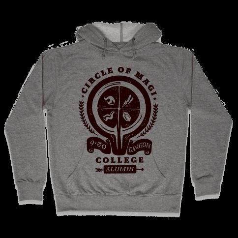 College of Magi Alumni Hooded Sweatshirt