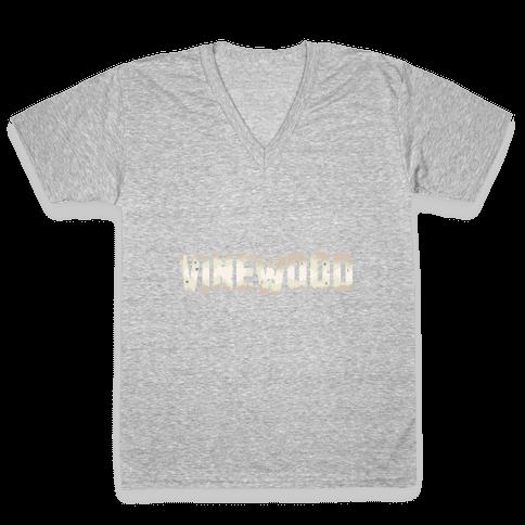 Vinewood V-Neck Tee Shirt