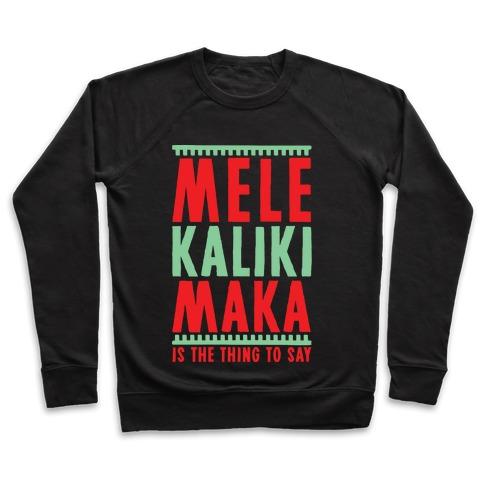 Mele Kalikimaka Pullover