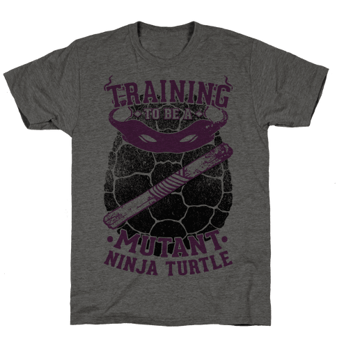 Training To Be A Mutant Ninja Turtle