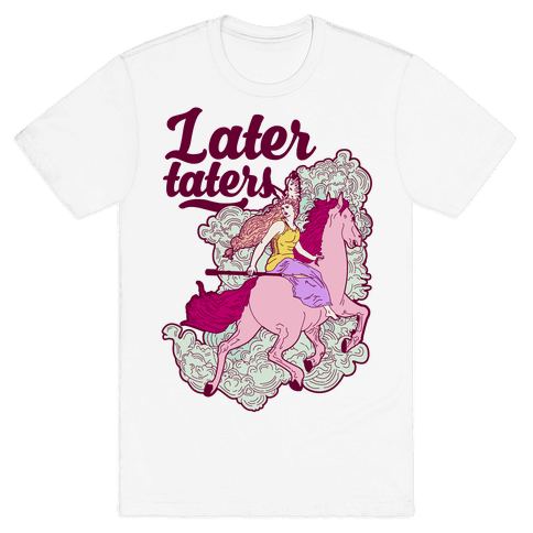 Later Taters Valkyrie Mens T-Shirt
