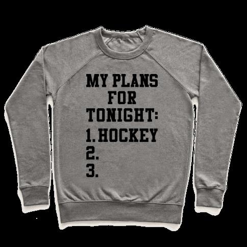 Hockey Plans Pullover