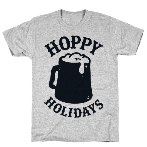 Hoppy Holidays Mens T-Shirt