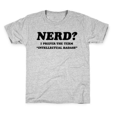 Intellectual Badass Kids T-Shirt