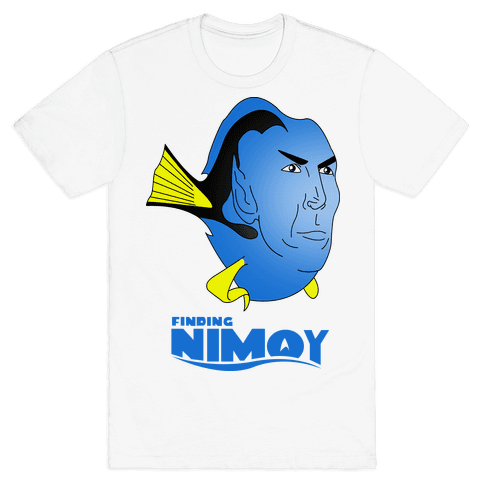Finding Nimoy Mens T-Shirt