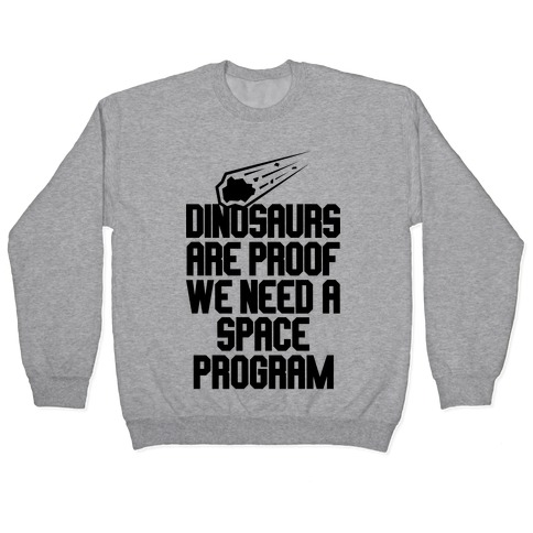 We Need A Space Program Pullover