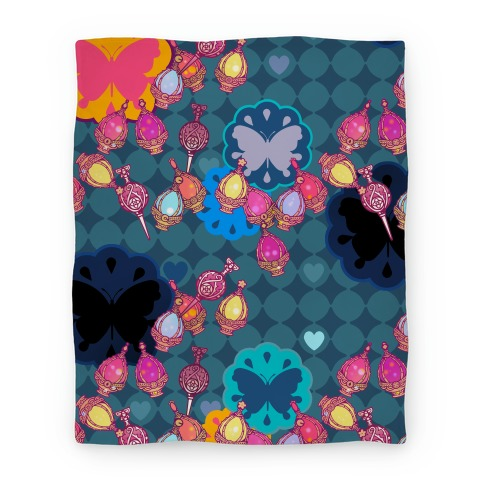 Madoka Soul Gem Pattern Blanket