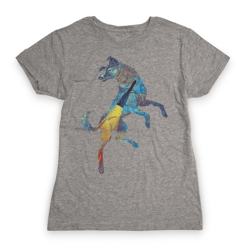 Astronaut Dog Laika Womens T-Shirt