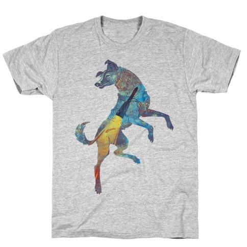 Astronaut Dog Laika T-Shirt