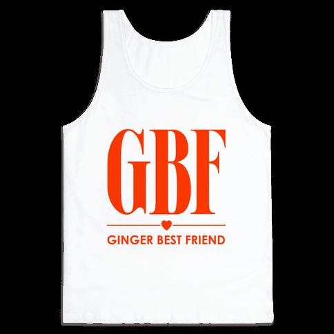 Ginger Best Friend (GBF) Tank Top