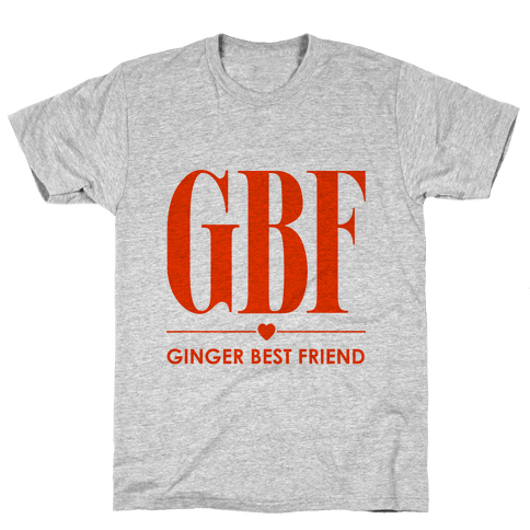Ginger Best Friend (GBF) Mens T-Shirt