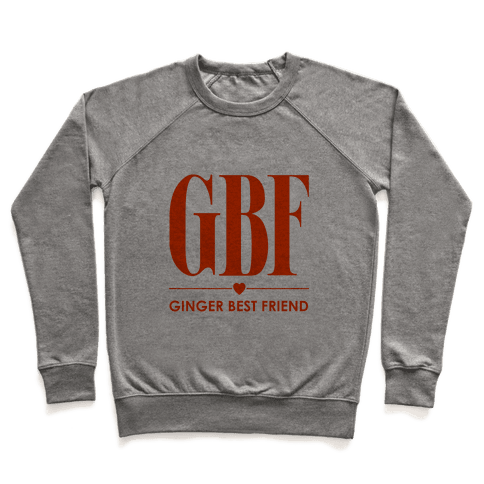 Ginger Best Friend (GBF) Pullover
